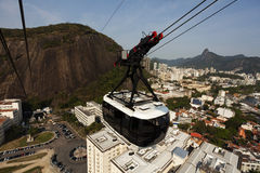 Rio de Janeiro - cable car Stock Photos