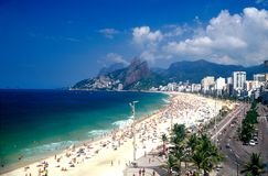 Rio de Janeiro in Carnaval Royalty-vrije Stock Afbeelding