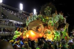 Rio de janeiro Carnival Imagem de Stock Royalty Free