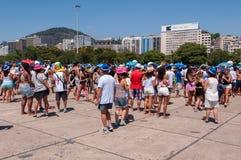 Rio de Janeiro Carnival Block Lizenzfreies Stockbild
