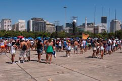 Rio de Janeiro Carnival Block Stockbild