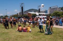 Rio de Janeiro Carnival Block Stock Photography