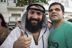 Rio de janeiro Carnival - Simpatia é Quase Amor fotografia de stock