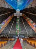 Rio de janeiro Cathedral fotos de stock royalty free