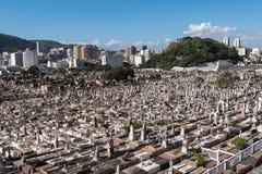 Rio de Janeiro Cemetery Stock Image