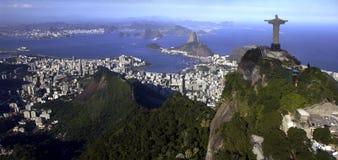 Rio de Janeiro - Christ le rédempteur - le Brésil Photographie stock