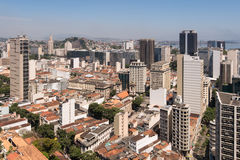 Rio de Janeiro City Buildings Royaltyfri Foto
