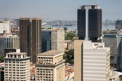 Rio de Janeiro City Buildings Fotografering för Bildbyråer