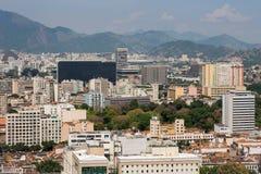 Rio de Janeiro City Buildings Arkivbild