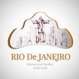 Rio de Janeiro city emblem Stock Photos