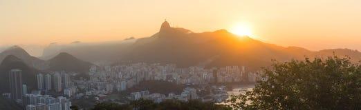 Rio de Janeiro City - Panoramic View Royalty Free Stock Photo