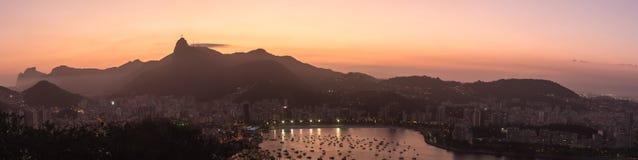 Rio de Janeiro City - Panoramic View Royalty Free Stock Image