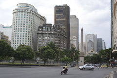 Rio de Janeiro city views in Brazil. Stock Images