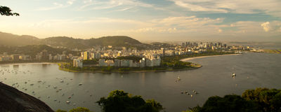 Rio de Janeiro cityscape Stock Photos