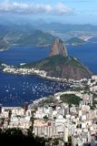 Rio de Janeiro Cityscape. (including Sugarloaf Mountain royalty free stock photography