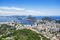 Rio de Janeiro Cityscape, Brazil Royalty Free Stock Images