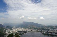 Rio de Janeiro cityview Stock Afbeeldingen