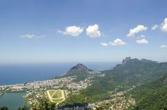 Rio de Janeiro cityview arkivfoton