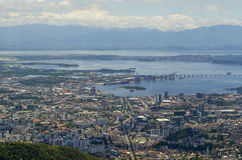 Rio de Janeiro cityview stock image
