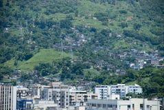 Rio de Janeiro-contrast Royalty-vrije Stock Afbeelding