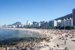 Rio de Janeiro - Copacabana Fotografia Stock Libera da Diritti