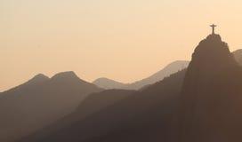 Rio de janeiro - Cristo o redentor Fotos de Stock Royalty Free