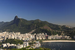 Rio de Janeiro de arriba Foto de archivo libre de regalías