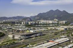Rio de Janeiro, de luchtmening van Barra da Tijuca Stock Foto