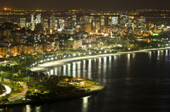 Rio de Janeiro de stad in royalty-vrije stock afbeelding