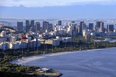 Rio de Janeiro de stad in stock afbeelding