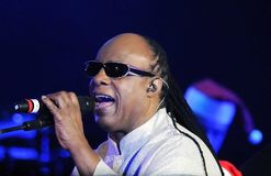 Stevie Wonder royalty free stock photography
