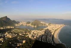 Rio de Janeiro from Dois Irmãos Royalty Free Stock Photography