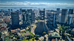 Rio de Janeiro Downtown - Brazilië Royalty-vrije Stock Foto