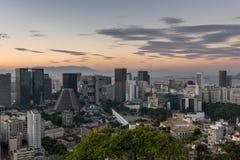 Rio de Janeiro Downtown Stock Photography