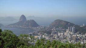 Rio de Janeiro, el Brasil almacen de metraje de vídeo
