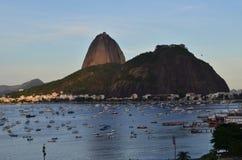 Rio de Janeiro, el Brasil Montaña de Sugarloaf Imagenes de archivo