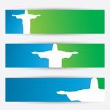 Rio De Janeiro-Fahnen vektor abbildung