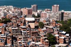 Rio de Janeiro favela arkivfoto