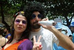Carnaval de Rua. Rio de Janeiro, February 15, 2009 Royalty Free Stock Photo