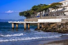 Rio de Janeiro Fort de Copacabana Images stock