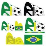 Rio de Janeiro graphic Stock Image