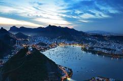 Rio de Janeiro horisont Royaltyfria Bilder