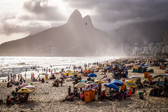 Rio De Janeiro Ipanema Obraz Stock