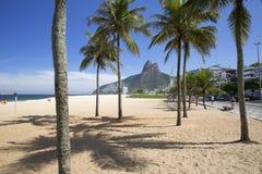 Rio de Janeiro Ipanema Beach Brazil Stock Photos