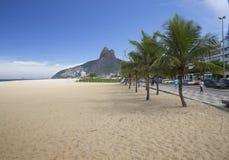 Rio de Janeiro Ipanema Beach Brazil royalty free stock image