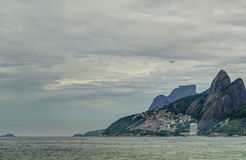 Rio de janeiro, Ipanema sea and mountain Stock Image