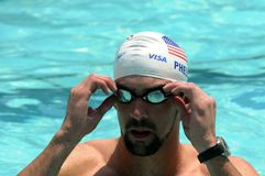 Michael Phelps Stock Images