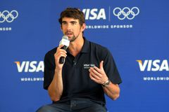 Michael Phelps Stock Photo