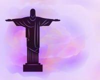 Rio de Janeiro Jesus Christ the redeemer statue. Royalty Free Stock Photos