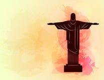 Rio de Janeiro Jesus Christ the redeemer statue. Stock Photos